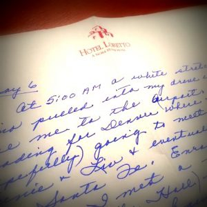 Notes from Nana about Santa Fe, Inn at the Loretto