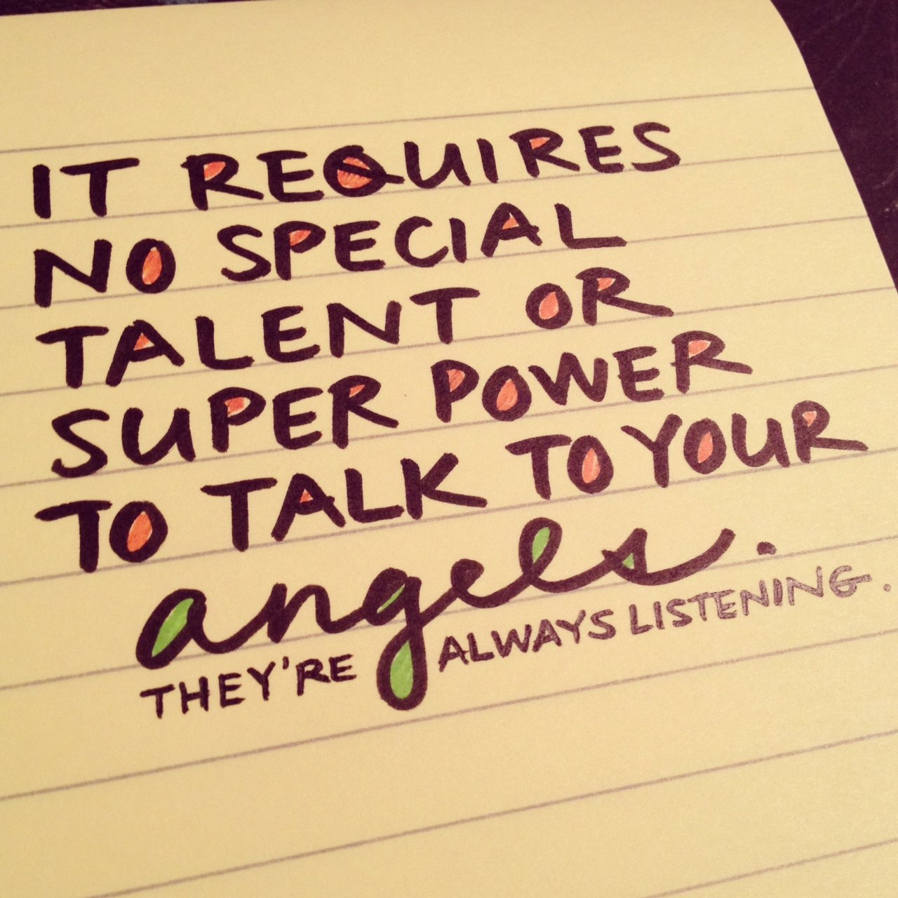 angel notes: messages meant for you
