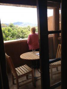 Nana at Hotel Loretto in Santa Fe, September 2013