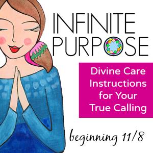 Inifinite Purpose class with Liv Lane and Lori Portka